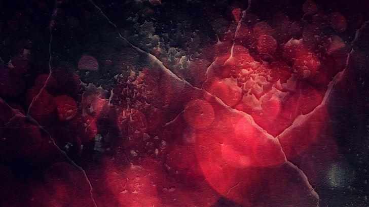 texture red abstract 5k Mac Wallpaper