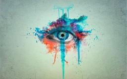CGI eyes manipulation