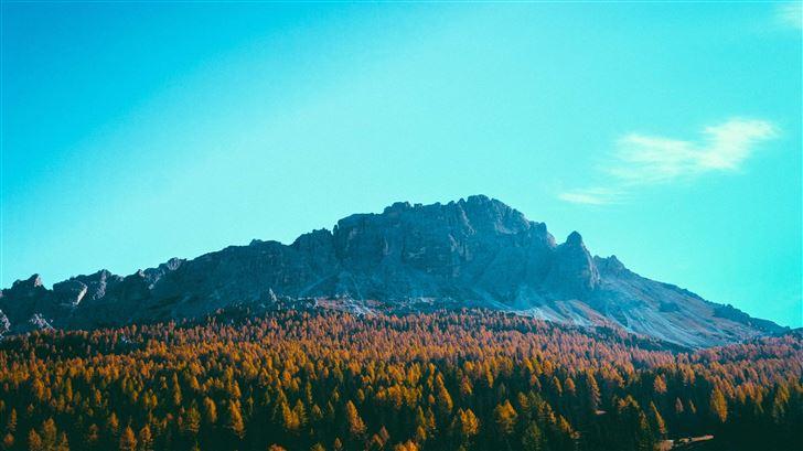 day time mountains 5k Mac Wallpaper