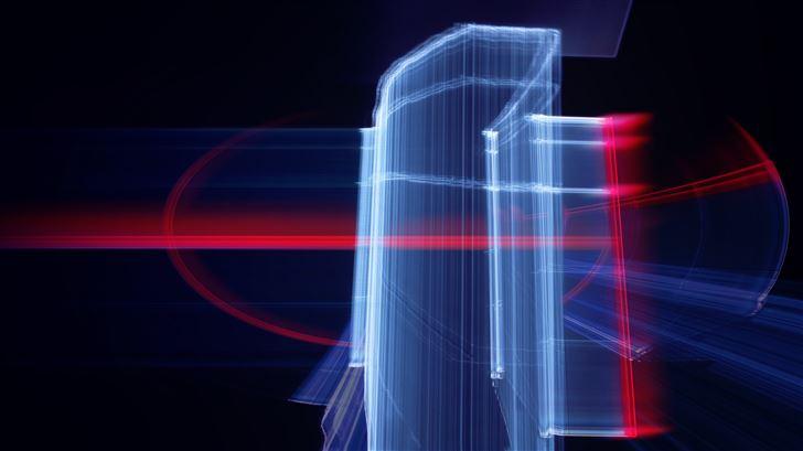 ns abstract 5k Mac Wallpaper