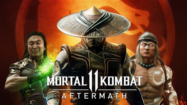 mortal kombat 11 aftermath 8k Mac Wallpaper