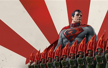 superman red son 2020 MacBook Air wallpaper