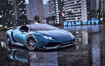 need for speed heat lamborghini 5k All Mac wallpaper
