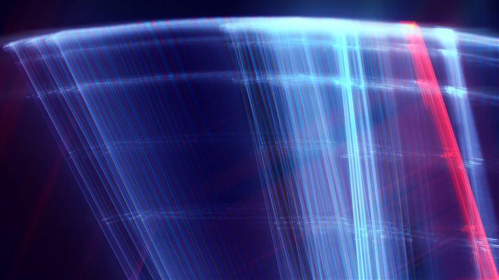 digital lights 5k Mac Wallpaper