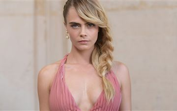 cara delevingne 2019 5k MacBook Air wallpaper