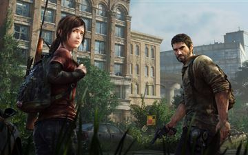 the last of us game 5k iMac wallpaper