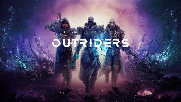outriders 8k 2020 Mac Wallpaper
