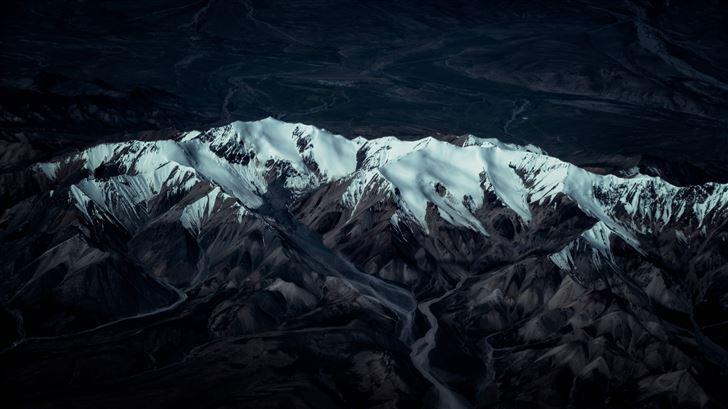 glacier mountain 8k Mac Wallpaper