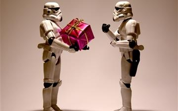 Stormtrooper christmas All Mac wallpaper
