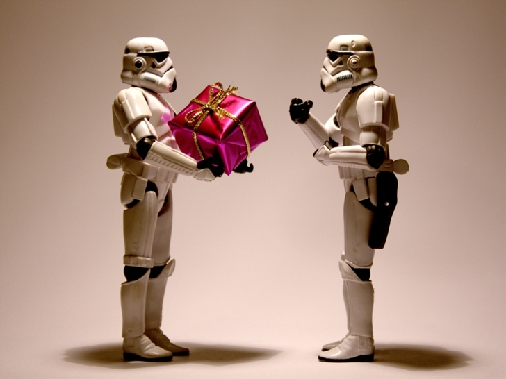 Stormtrooper christmas Mac Wallpaper