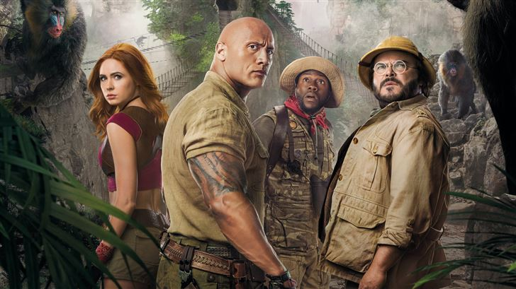 jumanji the next level 8k Mac Wallpaper