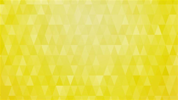 artistic pattern triangle yellow 8k Mac Wallpaper