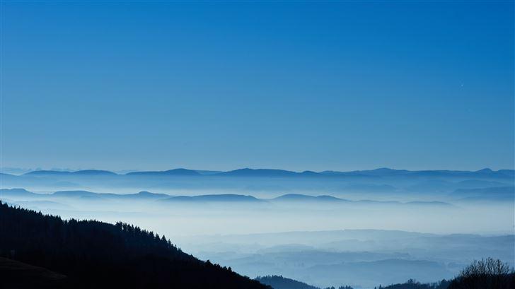beautiful landscape mountains 5k Mac Wallpaper