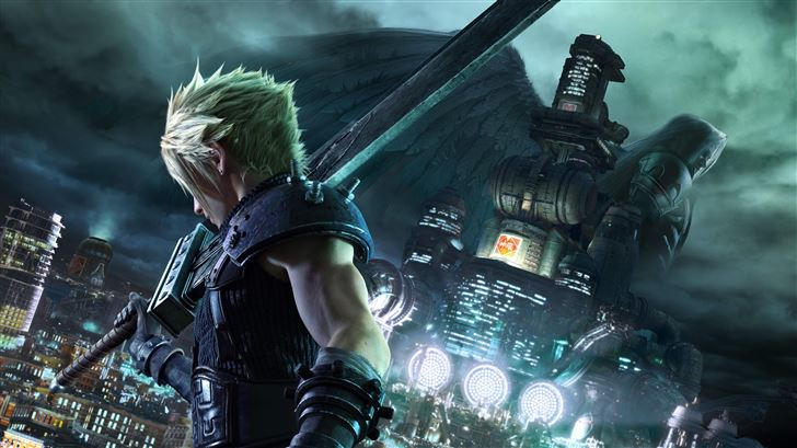 final fantasy vii remake 8k 2020 Mac Wallpaper