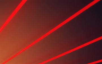red light beams abstract 5k MacBook Pro wallpaper