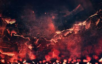 red abstract fire texture 5k All Mac wallpaper