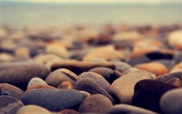 Stone beach Mac wallpaper