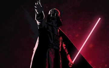 8k darth vader MacBook Pro wallpaper