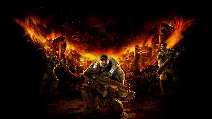 gears of war 5k Mac Wallpaper