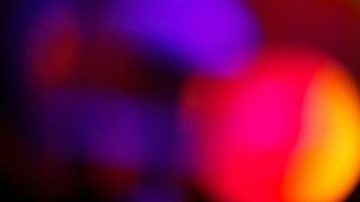 blur abstract lights 5k Mac Wallpaper