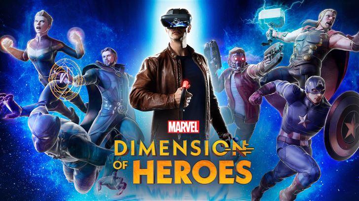 dimension of heroes 8k Mac Wallpaper