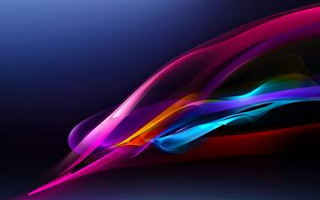 xperia z abstract 5k MacBook Air wallpaper