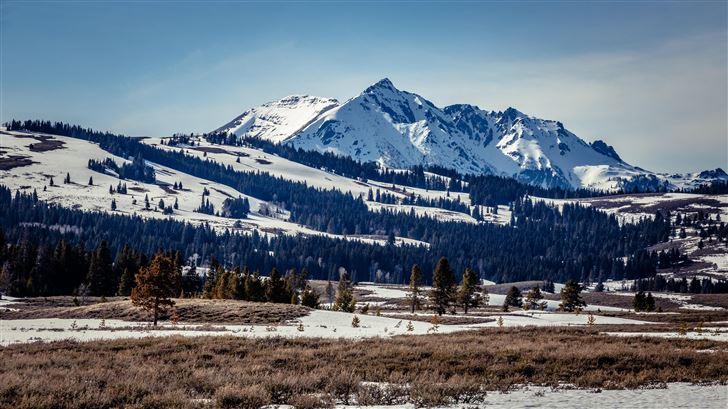 mountain scenery 5k Mac Wallpaper