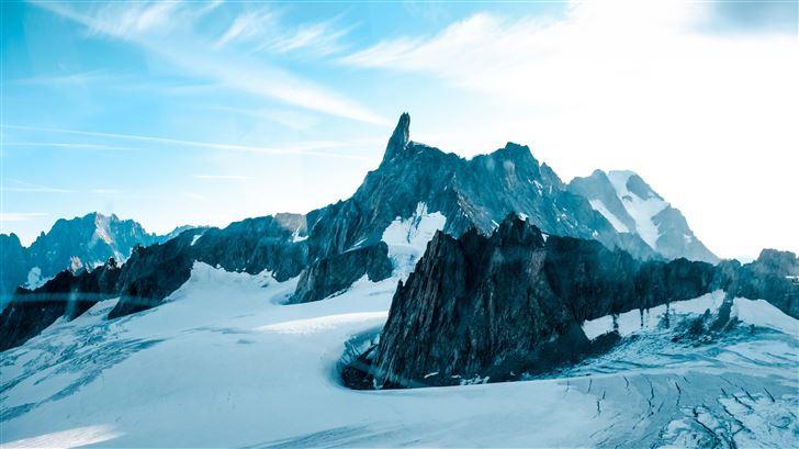 altitude cold landscape 5k Mac Wallpaper