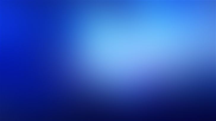 blue blur minimal 5k Mac Wallpaper