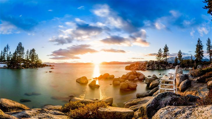 lake tahoe in united states Mac Wallpaper