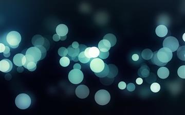 Bokeh light Mac wallpaper