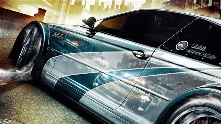 need for speed most wanted key art 5k Mac Wallpaper