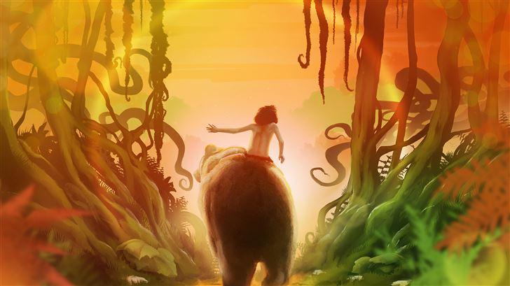 junglebook movie 8k Mac Wallpaper