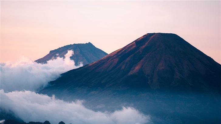 mountain ranges 5k Mac Wallpaper