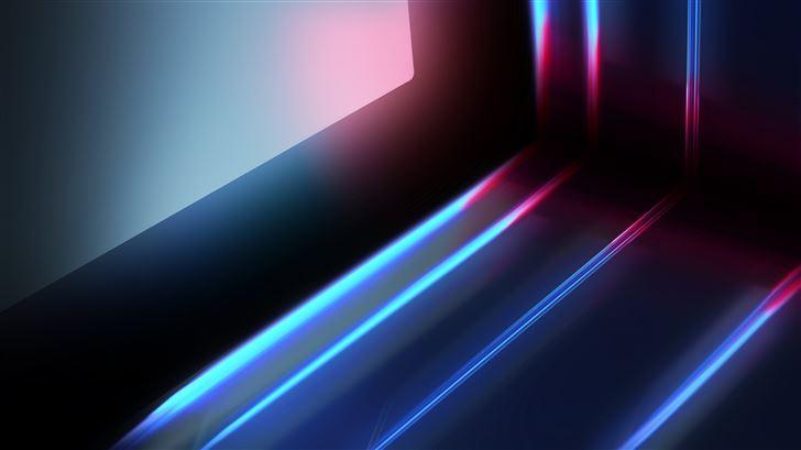 digital abstract art 5k Mac Wallpaper