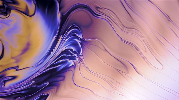 abstract liquid flare 5k Mac Wallpaper