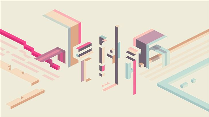 glitch abstract art 5k Mac Wallpaper