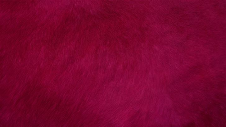 red smooth fur texture abstract 4k Mac Wallpaper
