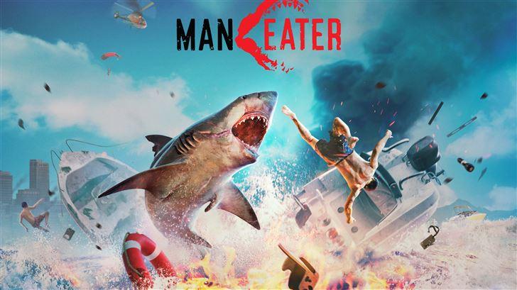 maneater 8k 2020 game Mac Wallpaper