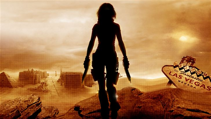 resident evil 3 extinction Mac Wallpaper