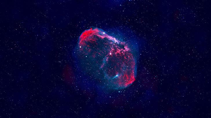 nebula abstract 5k Mac Wallpaper