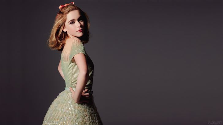 kiernan shipka actress Mac Wallpaper