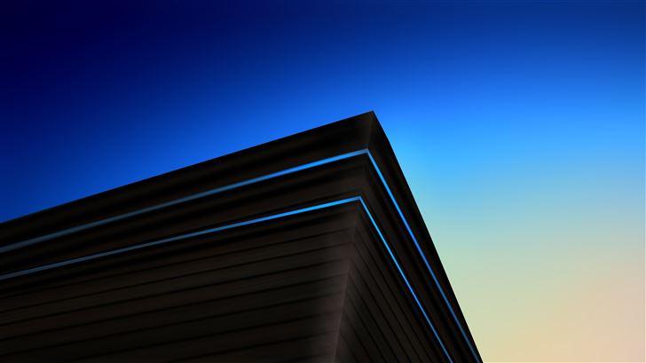 architecture minimalist 5k Mac Wallpaper