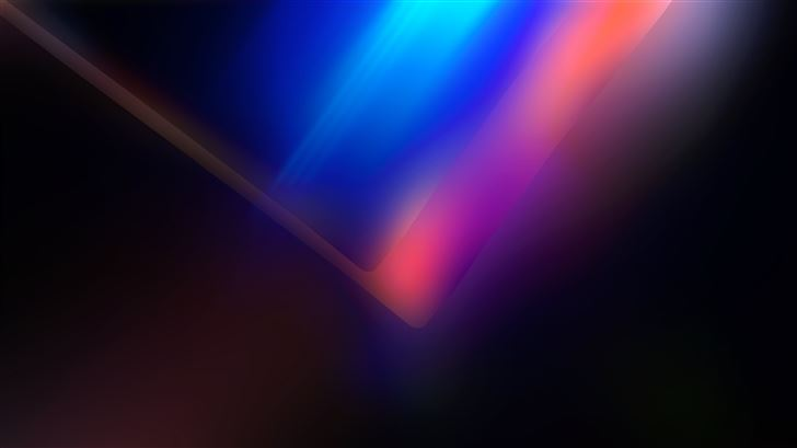 abstract spectral 5k Mac Wallpaper