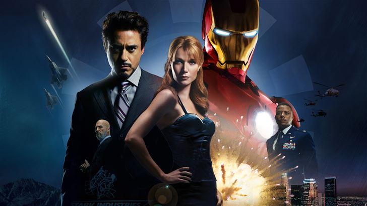iron man 2008 Mac Wallpaper