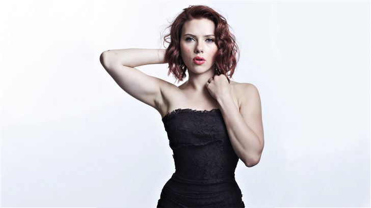 scarlett johansson 2020 5k Mac Wallpaper