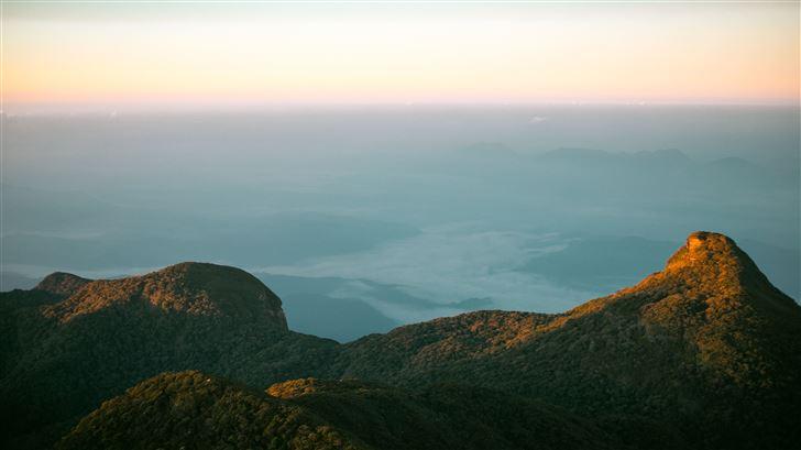 from top of adams peak srilanka Mac Wallpaper