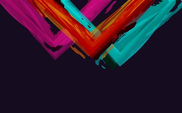 minimalistic abstract colors simple background 5k All Mac wallpaper