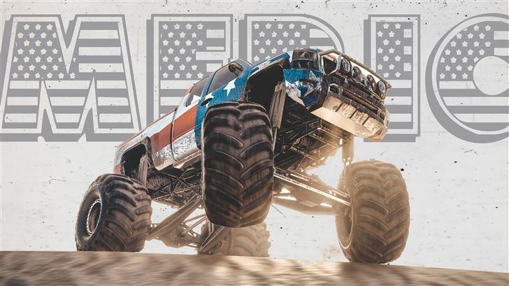 monster truck the crew Mac Wallpaper