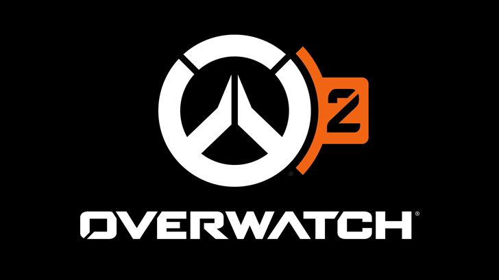 overwatch 2 game logo 5k Mac Wallpaper